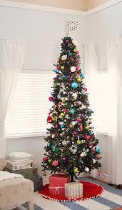Super Tall Skinny Charming Christmas Tree
