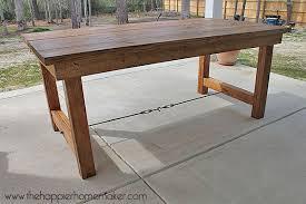 DIY Outdoor Dining Tables