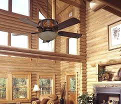 bedroom ceiling fans for log homes cabins welcome to lighthunting