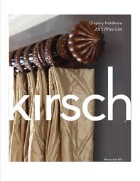 Kirsch Decorative Traverse Curtain Rods by Products And Services Drapery Hardware Other P And S