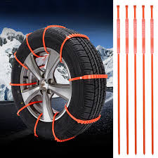 100 Snow Chains For Trucks Amazoncom Emergency Tire Set WINOMO 5Pcs Tyre Car