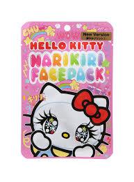hello kitty kawaii face mask topic