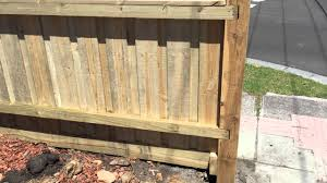 100 Building A Paling Fence Fence With Exposed Posts And Capping