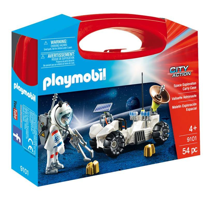 Playmobil City Action Playset - Space Exploration Carry Case