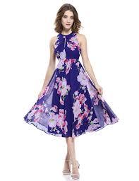 alisa pan sleeveless floral print tea length party dress