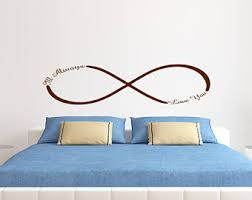 Ill Always Love You Infinity Wall Art Bedroom Decal