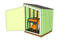 Saltbox Shed Plans 12x16 by Plan Shed