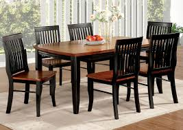 100 6 Oak Dining Table With Chairs Kings Furniture Warehouse Earlham Black W Side