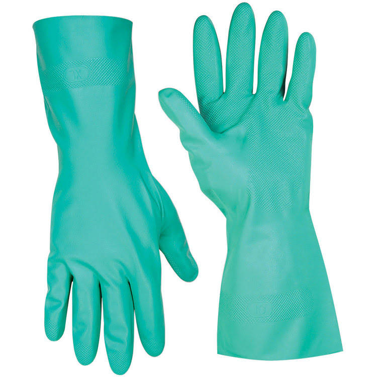 Custom Leathercraft Chemical Resistant Nitrile Gloves - Small
