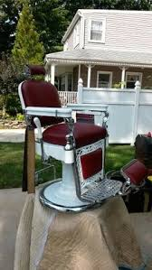 Theo A Kochs Barber Chair Footrest by 1920s Koken Barber Chair 1920s Barber Shop And Barbershop