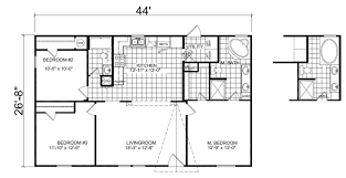 Fleetwood Triple Wide Mobile Home Floor Plans by Champion Homes Double Wide Floor Plans