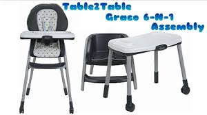 DIY Mommy: Table2Table- Graco 6-N-1 Assembly (Fiancé Does My ...