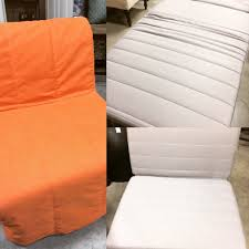 ikea lycksele chair bed c w slipcover storage box sold