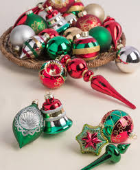 Merry Bright Ornament Collection Festive And Colorful Christmas Tree Ornaments
