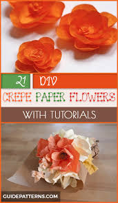 How To Make Simple Crepe Paper Flowers