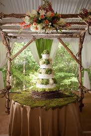 Birch Arbor For Over The Cake Table Rustic Elegance Wedding Floral Flowers Decor Event Styling