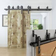 5-16FT Black Pulley Indoor Steel Flat Rail Heavy Roller Bearing ... How To Mount A Barn Door Using Tc Bunny Hdware From Amazon Doors Looks Simple And Elegant Lowes Rebecca Interior Sliding Locks For Bypass Pulley Asusparapc Suppliers And Manufacturers At Track Wheel Roller Pair Ironandalloy Pulleys Modern A Small Closet This Is The Industrial Minimalist Sliding Barn Doors Ideas For The House To Get Privacy Add Lock Your