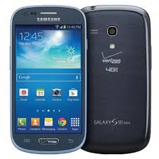 Samsung Galaxy S3 mini Verizon 4G LTE BLUE Android Phone