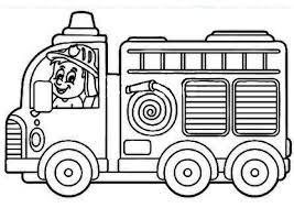 Coloriage Camion De Pompier Encequiconcerne Coloriage Camion