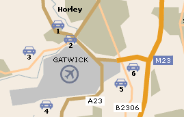 gatwick airport bureau de change airport uk