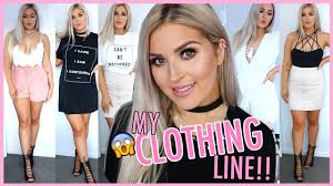 my own clothing line haul try on u0027s u0026 storytime youtube