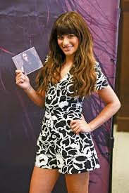 Lea Michele Louder CD Signing at Barnes And Noble at The Grove