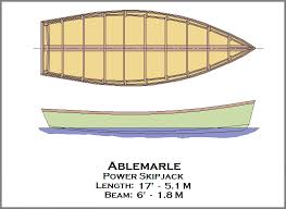 spira international inc ablemarle wooden displacement boat plans