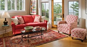 placing the long sofa on an angle is attractive but it makes me