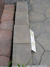 Menards Patio Paver Patterns by Lowes Pavers Round Concrete Stepping Stones Whole Patio Pavers