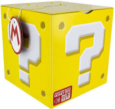 super mario question block moneybox merch online raru