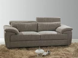 canapé 2 places fixe tissu meuble et déco