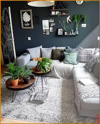 wohnzimmer boho jungle mostera gr ne dunkle pflanzen