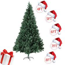 4 5 6 7 8FT Christmas Tree Stand Indoor Outdoor Holiday Season