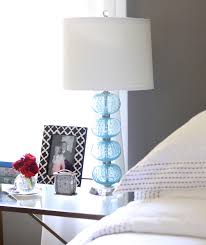 Glass Table Lamps For Bedroom by Amazing Homegoods Lamps In The Bedroom And On The Glass Table Lamp