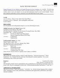Lovely How To List Volunteer Work On Resume Sample Inspirational 51 Beautiful Experience Examples Fresh Of