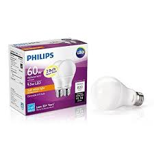 philips 461228 60w equivalent soft white a19 dimmable led