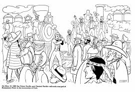 American History Coloring Page