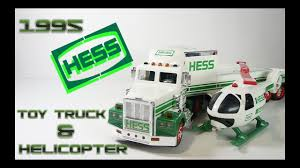 100 Hess Toy Truck Values 1995 And Helicopter Video Review YouTube