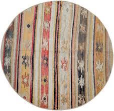 paco home teppich artigo 402 rund 4 mm höhe in und outdoor geeignet vintage design wohnzimmer