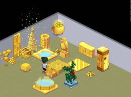 Habbo Golden Ice Furniture GTE