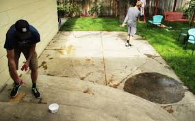 Patio Slabs by Best Way To Remove Concrete Slabs On A Patio