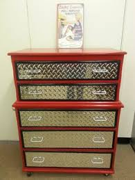 old dresser turned tool chest for our son jake s new race car