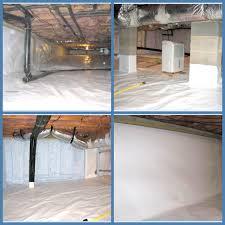 Floor Joist Jack Crawl Space by Diy Crawlspace Encapsulation Remodling Homes Pinterest Crawl