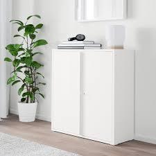ivar schrank mit türen weiß 80x83 cm