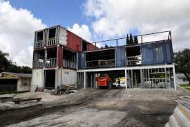 104 Building A Home From A Shipping Container Rchitect Plans To Move Family Into Giant House He Built