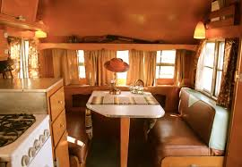 A Tour Of The Vintage Airstream Canned Hams And Other Restored Travel Trailers Featured In Trailer Show During Modernism Week Palm Springs