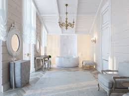 luxury modern bathroom black colors damask pattern ceramics