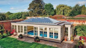 100 Glass Walled Houses Timber Pool House Westbury Garden Rooms