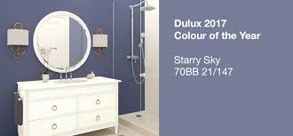 Paint Colors For Bathrooms 2017 by Dulux 2017 Colour Trends