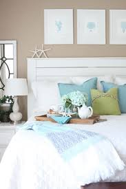 Beachy Headboards Beach Theme Guest Bedroom With Diy Wood by 96 Best Coastal Bedrooms Images On Pinterest Coastal Bedrooms